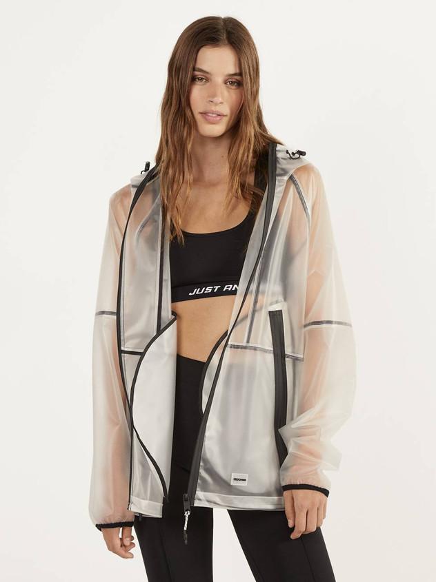 Bershka spring raincoat
