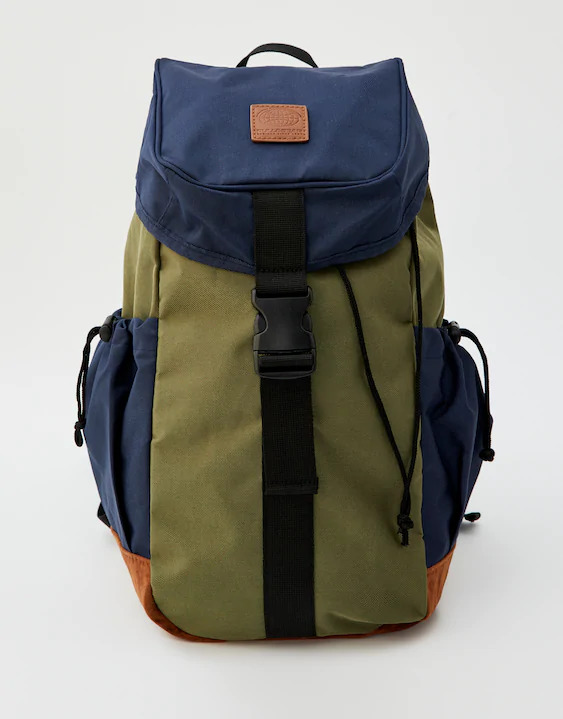 Two-color hiking backpack