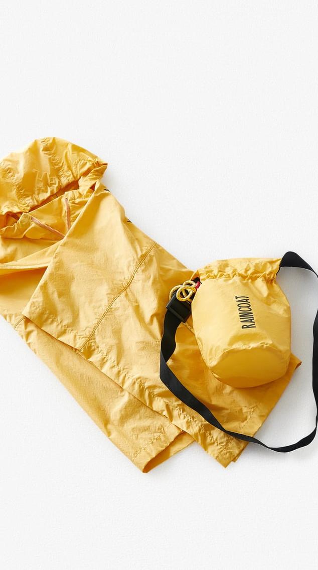 Hiking raincoat for kids