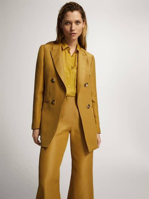 Massimo Dutti bright-colored workwear