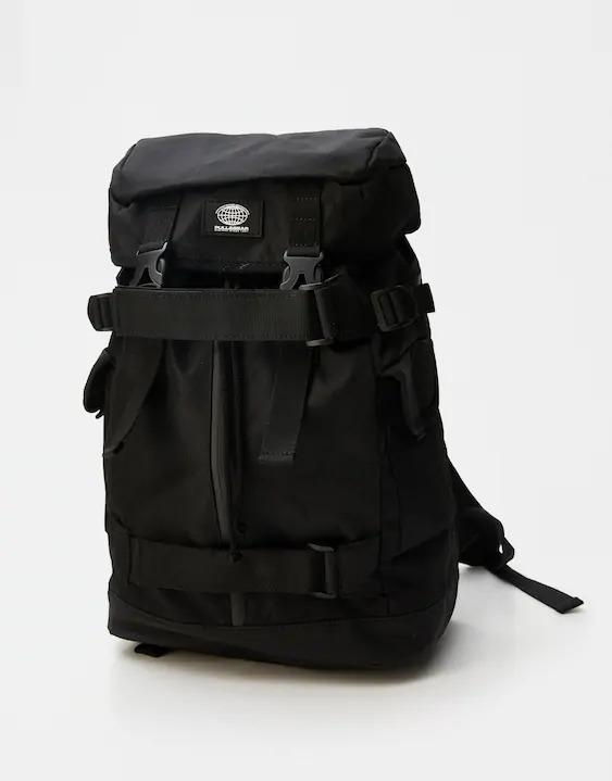 Zara black hiking backpack