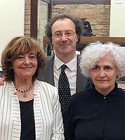 Ida Travi con Ana Blandiana e Marco Fazz