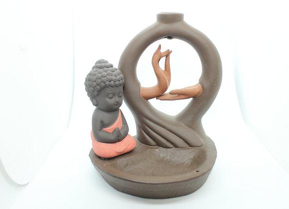 Quemador de Incienso - Monje de Meditación #1001