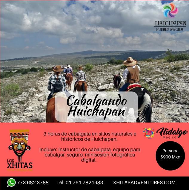 Cabalgata en Huichapan