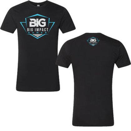 BIg Impact Games Black Short Sleeved Tee