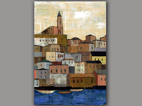 JAFFA AFTERNOON- a print of an original painting
