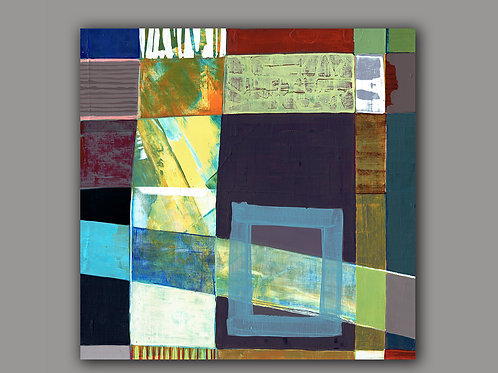 ROADS- an abstract print of an original painting