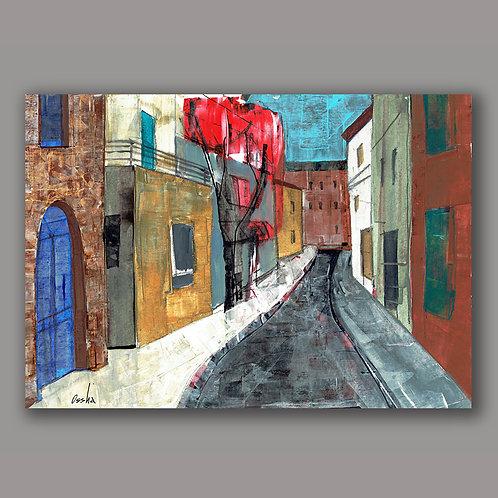 NEVE ZEDEK- a print of an original painting