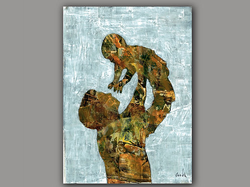 TOGETHER-- a print of an original painting