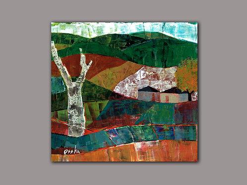 VIVID LANDSCAPE  -  print of an original painting