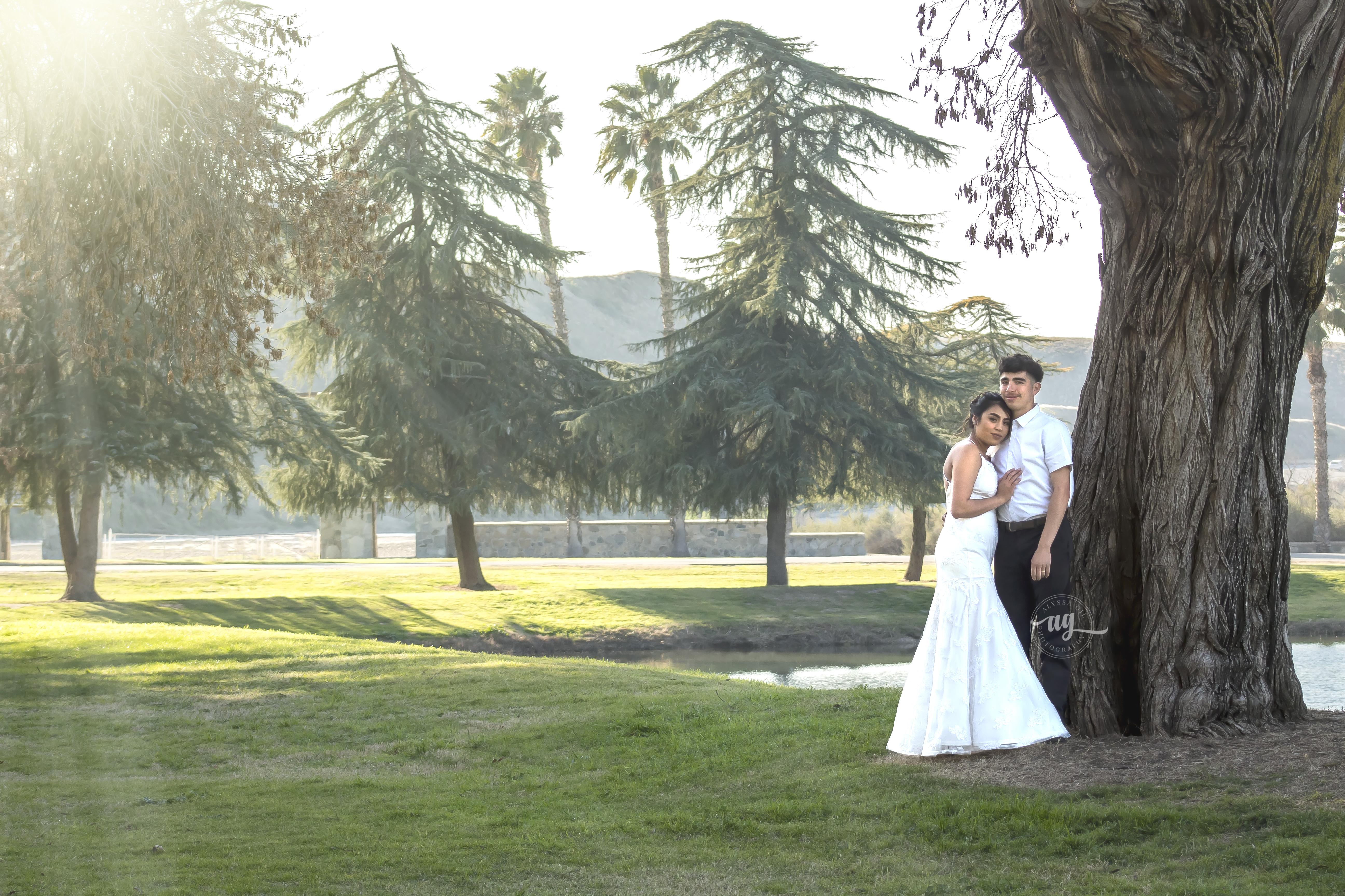 Bakersfield Wedding Portrait - Alyssa Gi