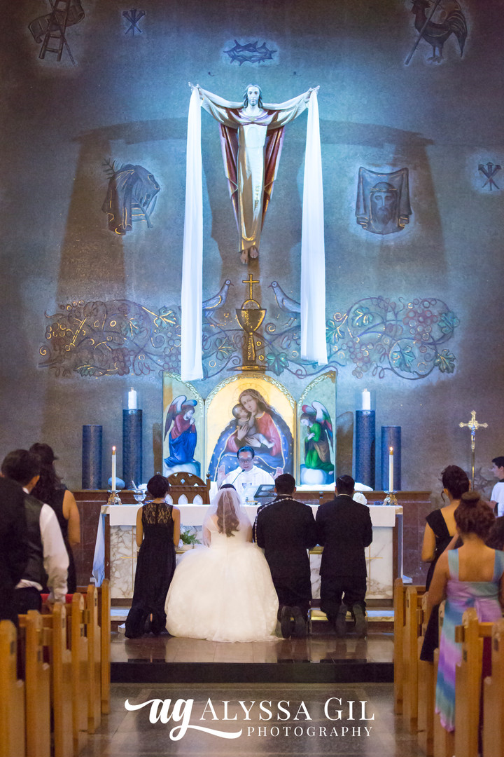 Alyssa Gil Photography -  Wedding Altar.