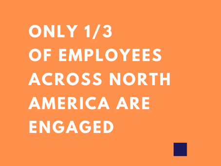 Only 1/3 of employees are engaged