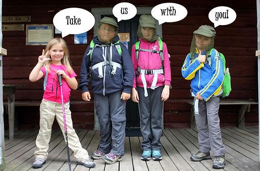 Trekking Finlande