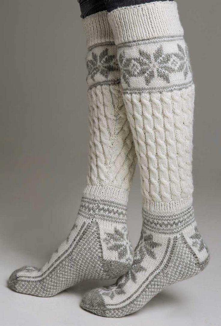 Chaussettes chaudes après-trek