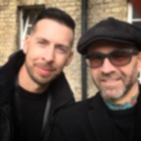 Paul Hobday and Ian Lawman