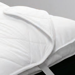 Mattress protectors and mattress pads by ComfortAce