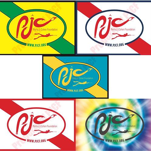 ALL FIVE PJCF STICKERS