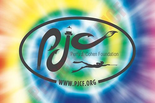 PJCF TIE-DYE Sticker