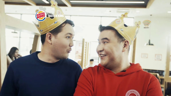 Burger King Student's Happiness