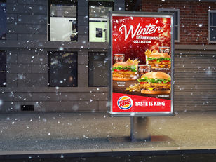 Burger King Winter Collection