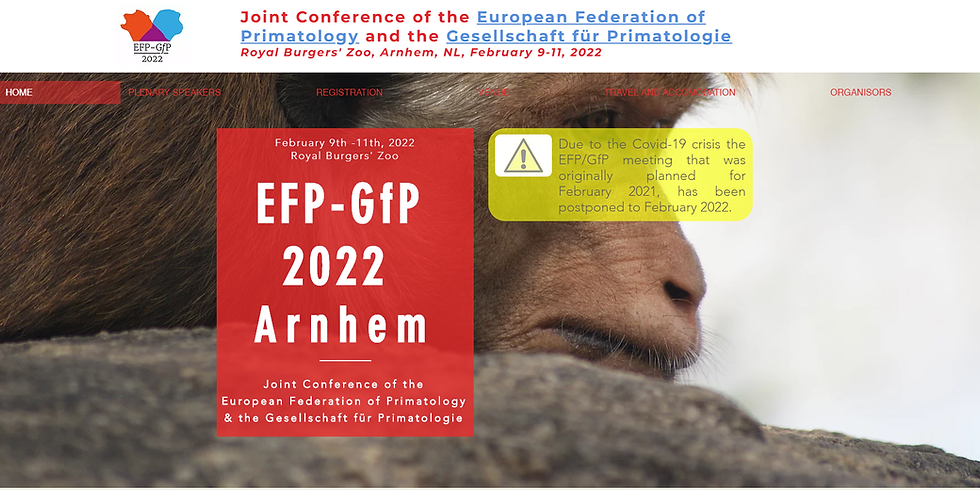 Joint Conference of the European Federation for Primatology and the Gesellschaft für Primatologie