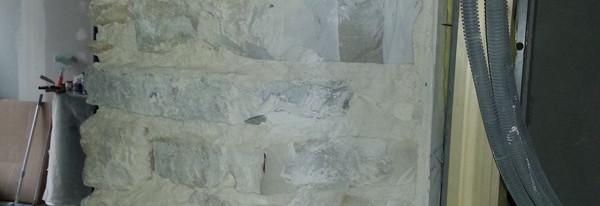 Murs en pierres de Bidache découvert au Saligues