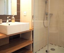 Les Barthes, la salle de bain, détail