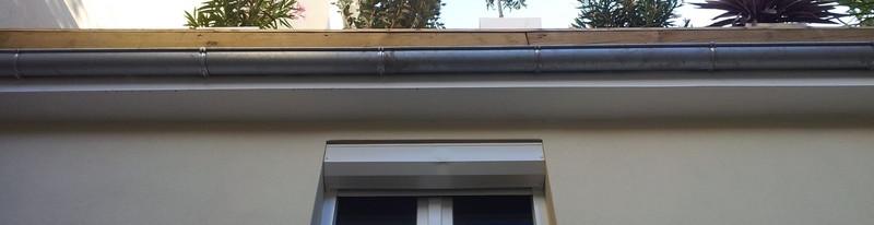 Végatalisation de la terrasse