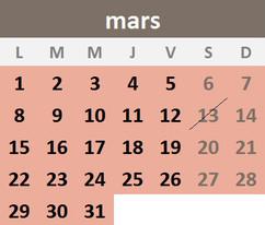 Saligues Mars 2021
