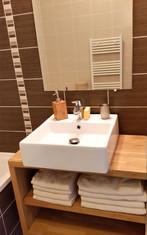 Les Saligues, la salle de bain