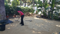Preparación del terreno