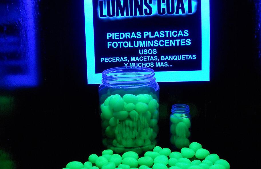Piedras Plásticas Fotoluminiscentes