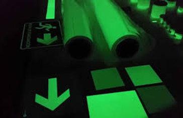Poliéster Autoadherible Fotoluminiscente
