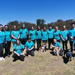 Team photo at Street Paws Festival