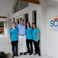 Somersby Animal Hospital Owners with Dr Harry