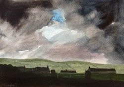 Storm over the hamlet of Heights