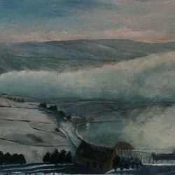 Mist in Uppermill valley