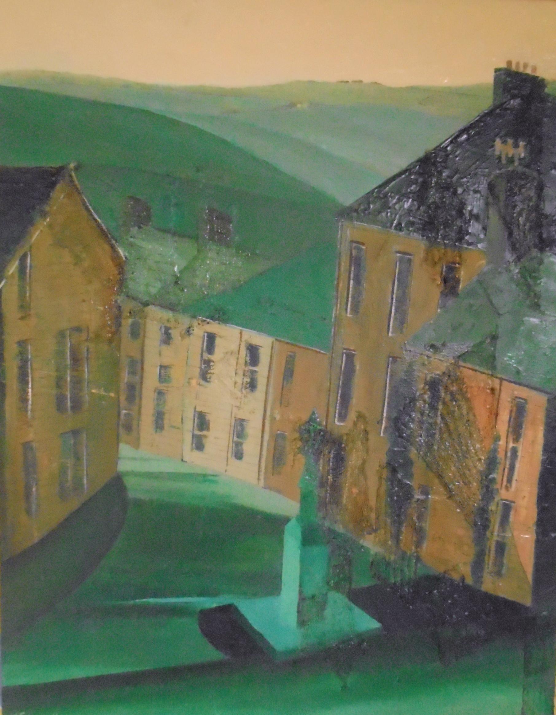 Dobcross village