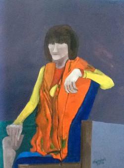 Sara in orange