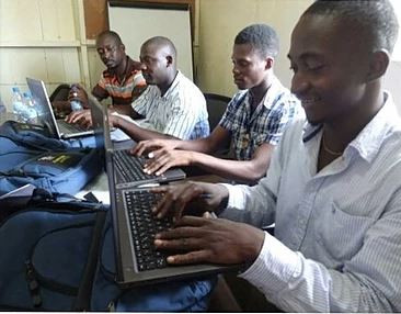 Gift of Laptops for Ballanta Academy of Music in Sierra Leone