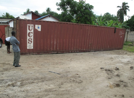 Re-purposed Shipping Container for Rightway Primary School