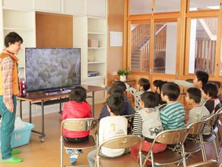 2校目の学校で4K環境学習授業を実施!