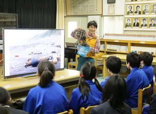 3校目の学校で4K環境学習授業を実施!
