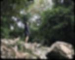 高槻の摂津峡の様子