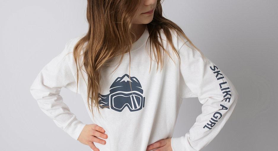 girls ski shirt