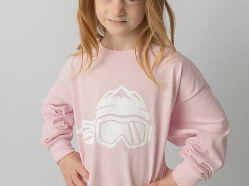 Girls Long Sleeve T-Shirt Pink
