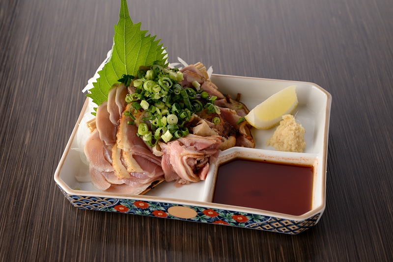 地鶏タタキ