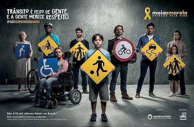 """""""Maio Amarelo – Atenção pela Vida"""""""