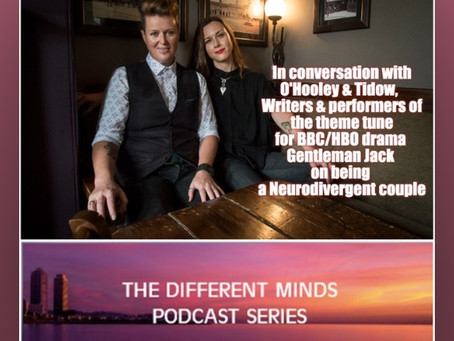 Different Minds Podcast with Gentleman Jack theme tune creators